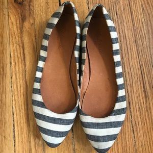 Madewell pointed toe flats